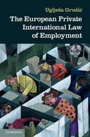 The European Private International Law of Employment (Hardback)