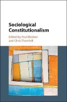 Sociological Constitutionalism (Hardback)