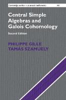 Central Simple Algebras and Galois Cohomology - Cambridge Studies in Advanced Mathematics (Hardback)