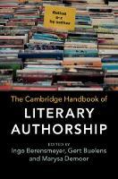 The Cambridge Handbook of Literary Authorship (Hardback)