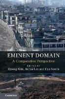 Eminent Domain: A Comparative Perspective (Hardback)