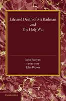 'Life and Death of Mr Badman' and 'The Holy War' (Paperback)