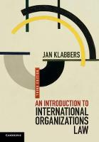 An Introduction to International Organizations Law (Paperback)