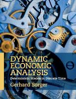 Dynamic Economic Analysis: Deterministic Models in Discrete Time (Paperback)