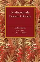 Les discours du Docteur O'Grady (Paperback)