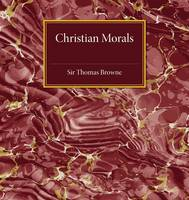 Christian Morals (Paperback)
