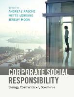 Corporate Social Responsibility: Strategy, Communication, Governance (Paperback)