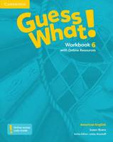 Guess What! American English Level 6 Workbook with Online Resources