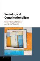 Sociological Constitutionalism (Paperback)