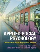 Applied Social Psychology: Understanding and Managing Social Problems (Paperback)