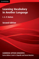 Cambridge Applied Linguistics: Learning Vocabulary in Another Language
