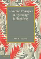 Common Principles in Psychology and Physiology (Paperback)