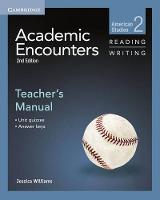 Academic Encounters Level 2 Teacher's Manual Reading and Writing: American Studies (Paperback)