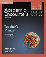Academic Encounters Level 3 Teacher's Manual Reading and Writing: Life in Society (Paperback)