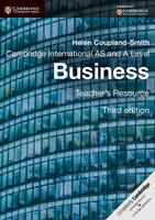 Cambridge International AS and A Level Business Teacher's Resource CD-ROM (CD-ROM)