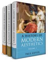 A History of Modern Aesthetics 3 Volume Set (Hardback)