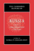 The Cambridge History of Russia: The Twentieth Century Volume 3 (Paperback)