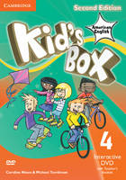 Kid's Box American English Level 4 Interactive DVD (NTSC) with Teacher's Booklet