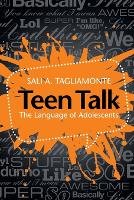Teen Talk: The Language of Adolescents (Paperback)