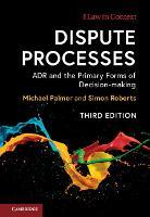 Dispute Processes
