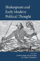 Shakespeare and Early Modern Political Thought (Paperback)