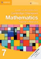 Cambridge Checkpoint Mathematics Teacher's Resource 7 (CD-ROM)