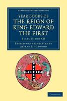 Year Books of the Reign of King Edward the First - Year Books of the Reign of King Edward the First 5 Volume Set Volume 1 (Paperback)