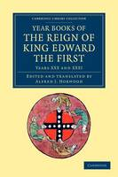 Year Books of the Reign of King Edward the First - Year Books of the Reign of King Edward the First 5 Volume Set Volume 3 (Paperback)