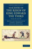 Year Books of the Reign of King Edward the Third - Cambridge Library Collection - Rolls Volume 1 (Paperback)