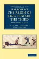 Year Books of the Reign of King Edward the Third - Year Books of the Reign of King Edward the Third 15 Volume Set Volume 7 (Paperback)