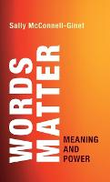 Words Matter: Meaning and Power (Hardback)