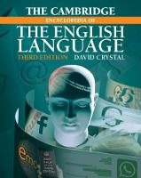 The Cambridge Encyclopedia of the English Language (Paperback)