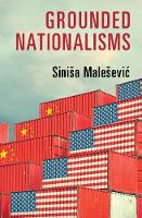 Grounded Nationalisms: A Sociological Analysis (Paperback)