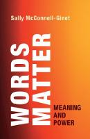 Words Matter: Meaning and Power (Paperback)