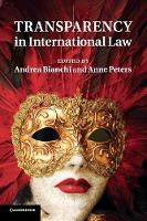Transparency in International Law (Paperback)