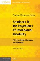 Seminars in the Psychiatry of Intellectual Disability - College Seminars Series (Paperback)