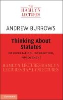 Thinking about Statutes