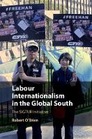 Labour Internationalism in the Global South: The SIGTUR Initiative (Hardback)