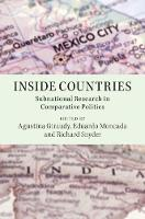 Inside Countries: Subnational Research in Comparative Politics (Hardback)