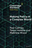 Elements in Public Policy: Making Policy in a Complex World