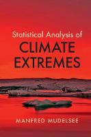 Statistical Analysis of Climate Extremes (Paperback)