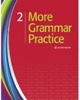 More Grammar Practice 2 (Paperback)