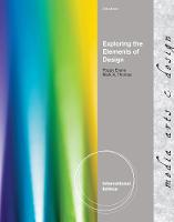 Exploring the Elements of Design, International Edition (Book)