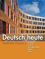 Deutsch Heute Worktext, Volume 2 (Hardback)