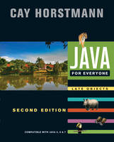 Java For Everyone: Late Objects (Paperback)