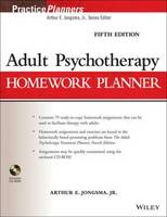 Adult Psychotherapy Homework Planner - PracticePlanners (Paperback)