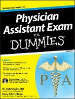 Physician Assistant Exam For Dummies: with CD (Paperback)