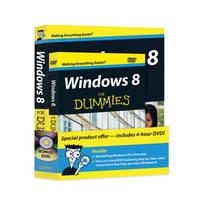 Windows 8 for Dummies Book+dvd Bundle
