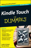 Kindle Touch For Dummies Portable Edition (Paperback)