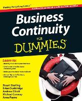 Business Continuity For Dummies (Paperback)
